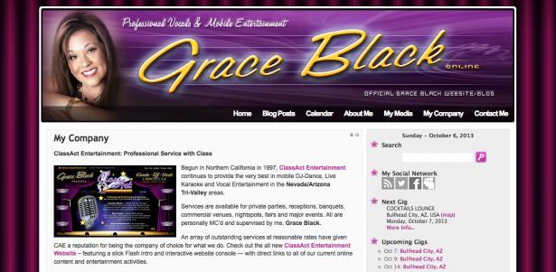 Grace Black Online
