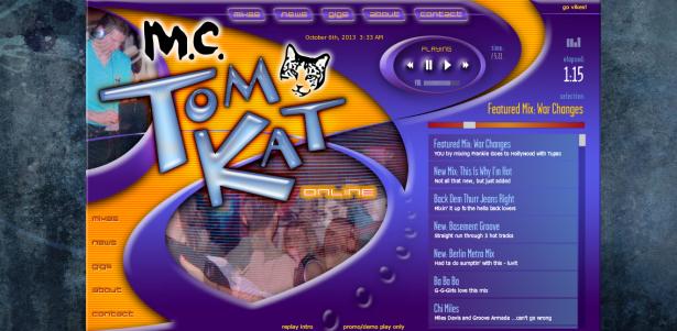 MC Tomkat Jukebox – Flash
