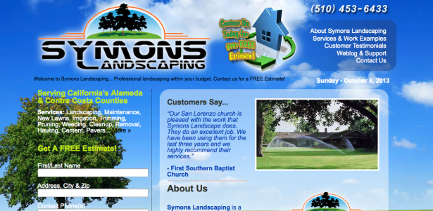 Symons Landscaping